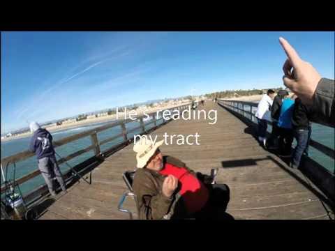 Fishing for men on the Port Hueneme pier