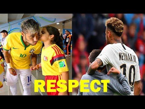 Neymar Jr ● Most Beautiful, Respectful U0026 Emotional Moments ● 2019