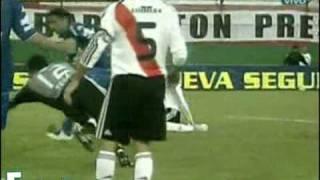 Huracán 4 - River Plate 0. Torneo Clausura 2009.