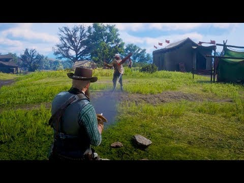 Challenge a Stranger to a Duel in Red Dead Redemption 2