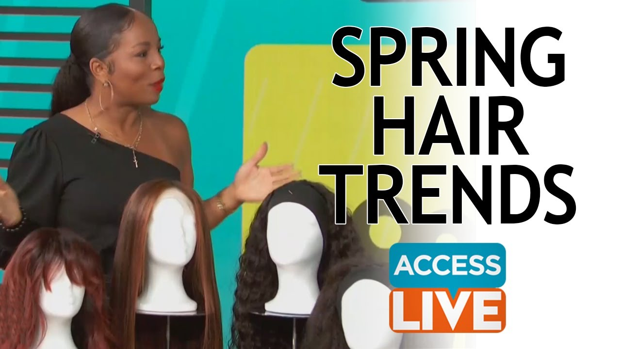 Spring Hair Trends with Celebrity Hairstylist, Kiyah Wright