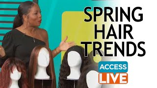 ACCESS DAILY: Spring Hair Trends with Celebrity Hairstylist Kiyah Wright