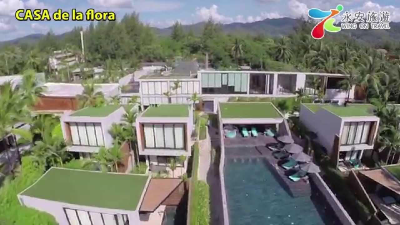 pool villa/CASA de la floraDJI Phantom 2 with GoPro / Aerial  Thailand - YouTube
