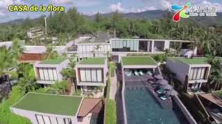 航拍布吉島型格pool villaCASA de la flora:DJI Phantom 2 with ...