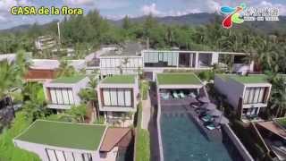 航拍布吉島型格pool villaCASA de la flora:DJI Phantom 2 with ...