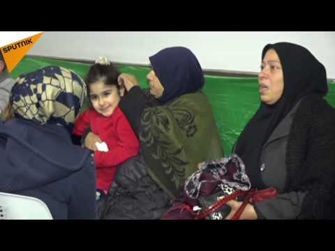 Hundreds of Civilians from Idlib Province Arrive Safely in Latakia
