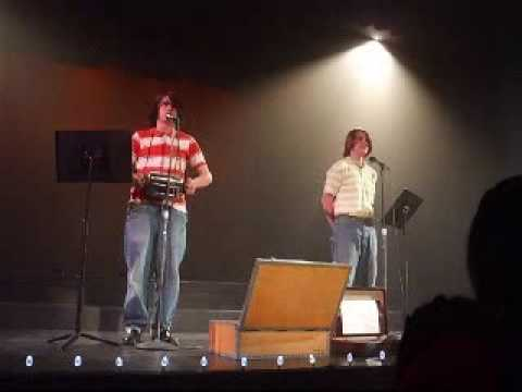 Max and Mathison  'Toast'  Mineral Springs Middle School Talent Show