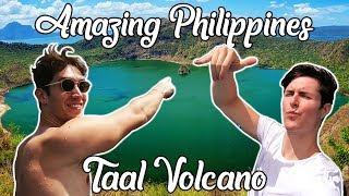 AMAZING Taal Volcano Day! (Filipino Hospitality, Pancit Canton & Lambanog) - Philippines Travel Vlog