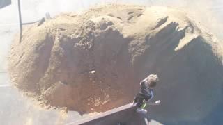 Lagunitas School - Liam dumpster diving