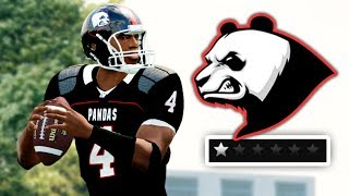 NCAA 14 but it's the worst dynasty ever | UGF Pandas Team Builder Dynasty Ep. 1