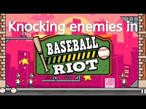 Playing baseball riot game and winning it ||Gameplay of baseball riot || Innocuous gamer |