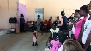 Chris Soto dancing in the DR