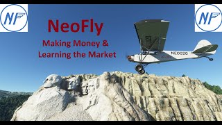 NeoFly Tutorial - Learn how to make money, use the market, and have AI fly aircraft for profit.