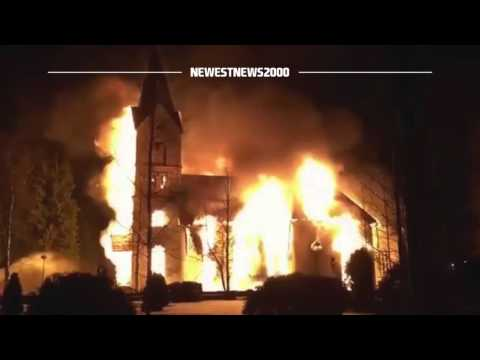 Church burned in Finland before a scheduled Easter night vigil
