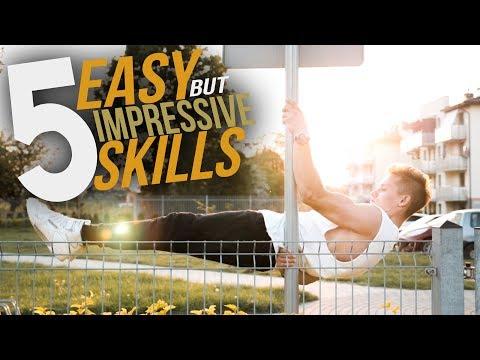 5 IMPRESSIVE Calisthenics Skills For ANYONE!
