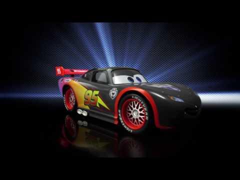 Voiture Cars radiocommandé 1/24 McQueen carbon de Majorette