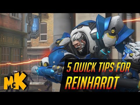 5 Quick Tips For Reinhardt   Overwatch Tips And Tricks