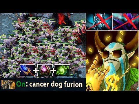 CANCER META Full Treants Summon Push Strat Scepter Octarine Furion Fun vs Trashtalk Dota 2