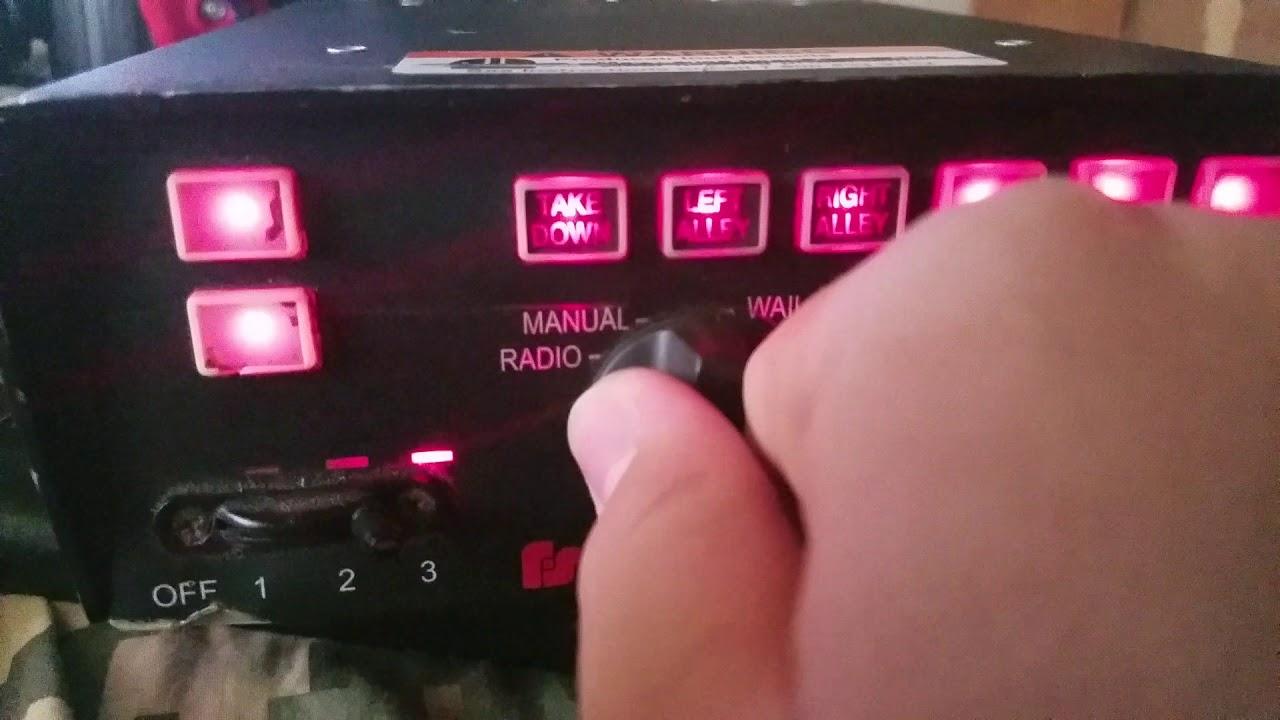 Federal Signal PA 640 siren full demo on