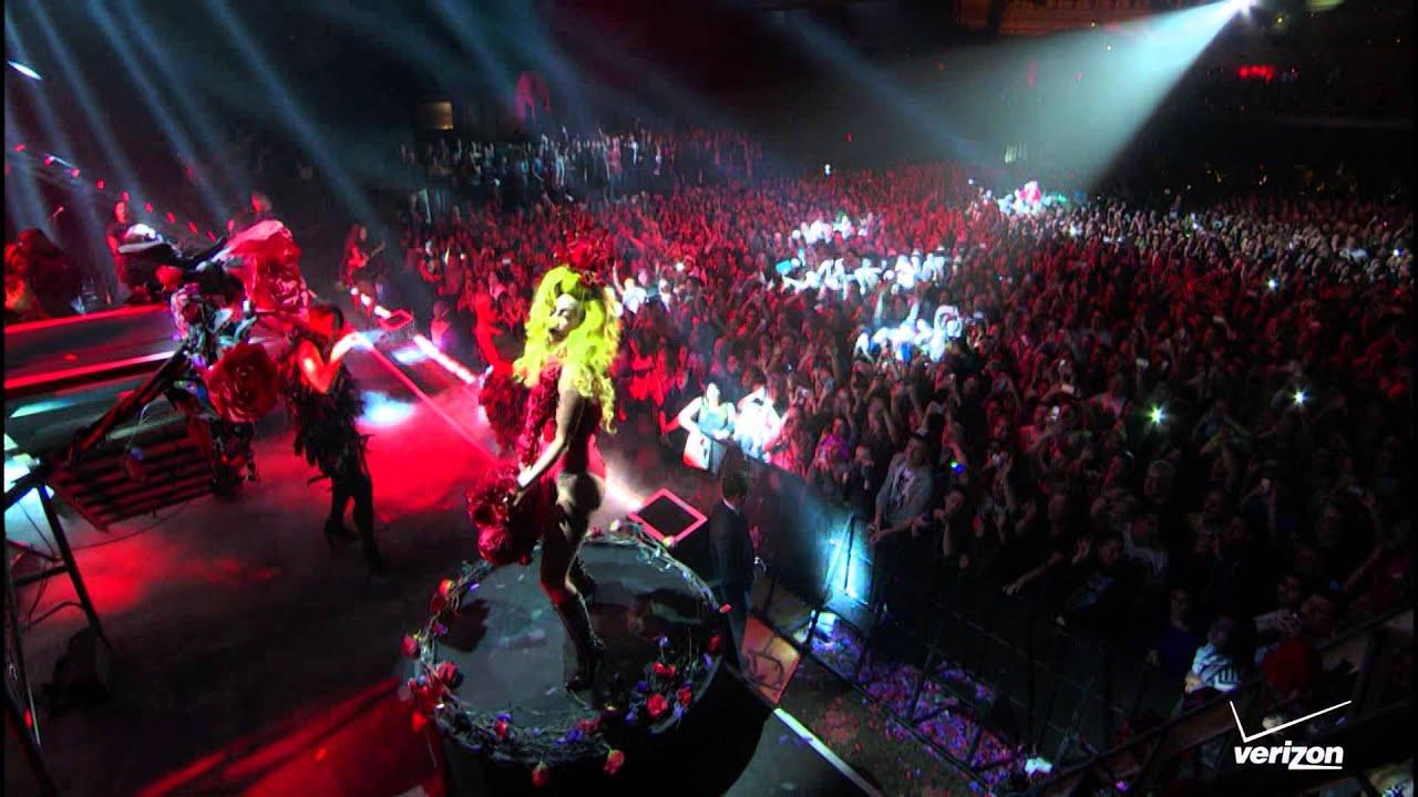 Lady Gaga - Monster + Bad Romance Live at Roseland HD