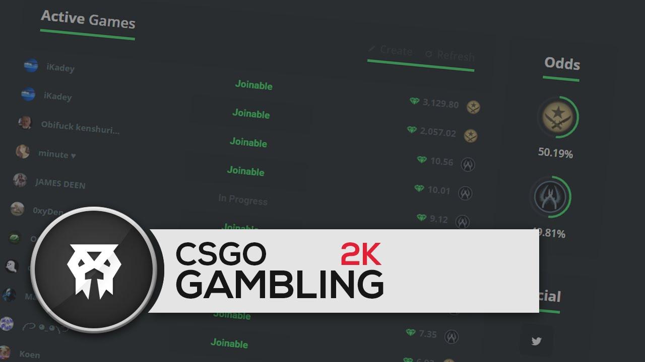 CSGO GAMBLING! (LOSING 2K) CSGOWILD - YouTube