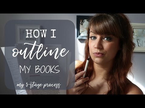 How I Outline My Books | My 5-Stage Process