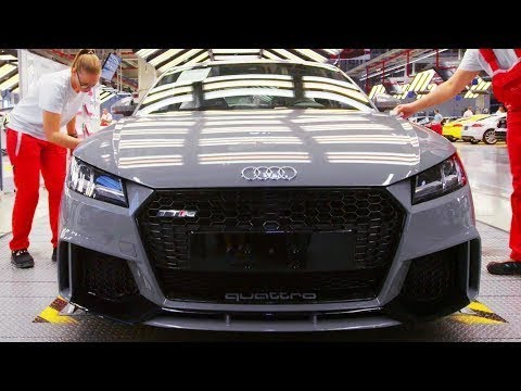 How is it Made: Powerful German Audi TT RS and Audi A3 Sedan - Production Line