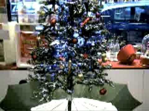 schneiender weihnachtsbaum snowing x mas tree youtube. Black Bedroom Furniture Sets. Home Design Ideas