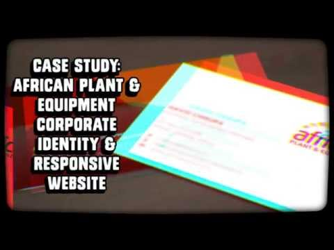 Case Study: African Plant & Equipment Corporate Identity & Website by iFactory