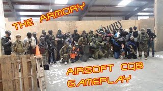 The Armory Airsoft CQB Gameplay: Public game (G&G CM16RL, WE Tech M1911)