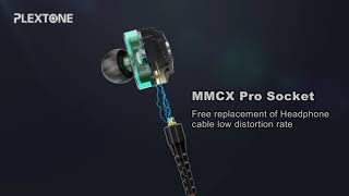 Plextone DX6 Gaming Earphone 3 Hybrid Drivers