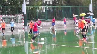 精英盃 6 人足球賽-分組賽:海官高級組A vs 陳榮根