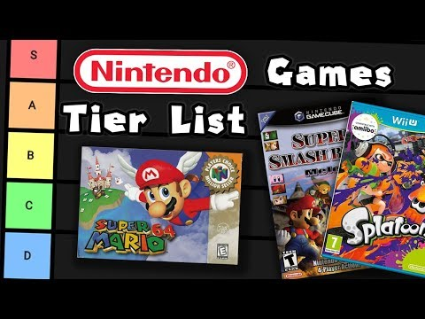 Nintendo Games Tier List
