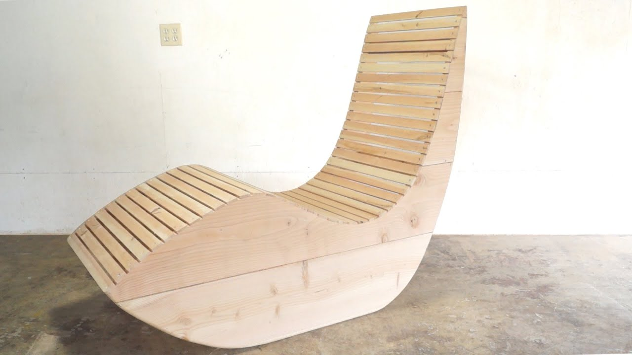 Diy modern outdoor lounge chair modern builds ep 44 for Build a chaise lounge