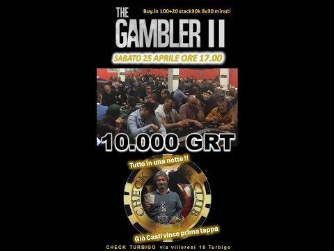 GIO CASTI VINCITORE THE GAMBLER - INTERVISTA AL CHECK POKER TURBIGO