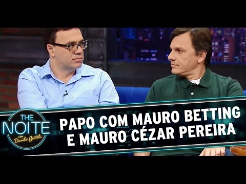 The Noite 14/07/14 (parte 1) - Entrevista Mauro Betting e Mauro Cézar Pereira