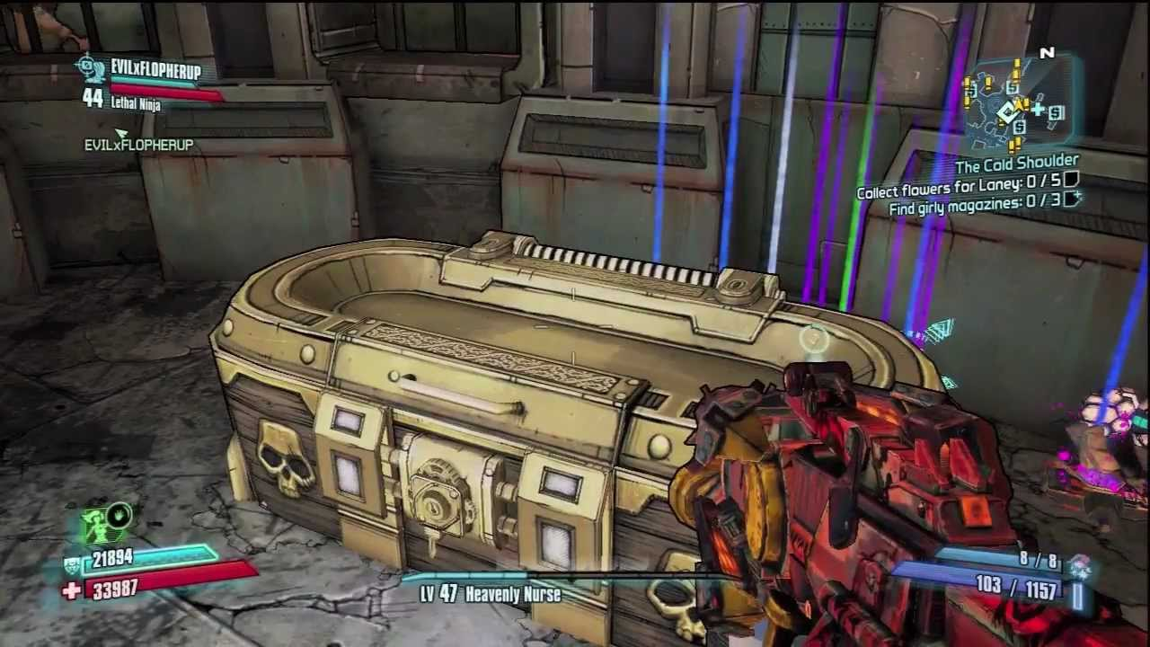*NEW* BORDERLANDS 2 GOLD BOX GLITCH *YOUR LEVEL* / *WORKING*