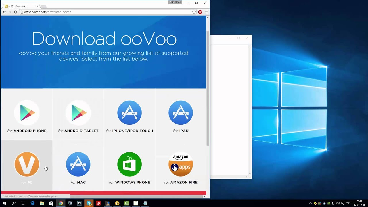 OOVOO TUTORIAL DOWNLOAD FREE PC 2015 - YouTube