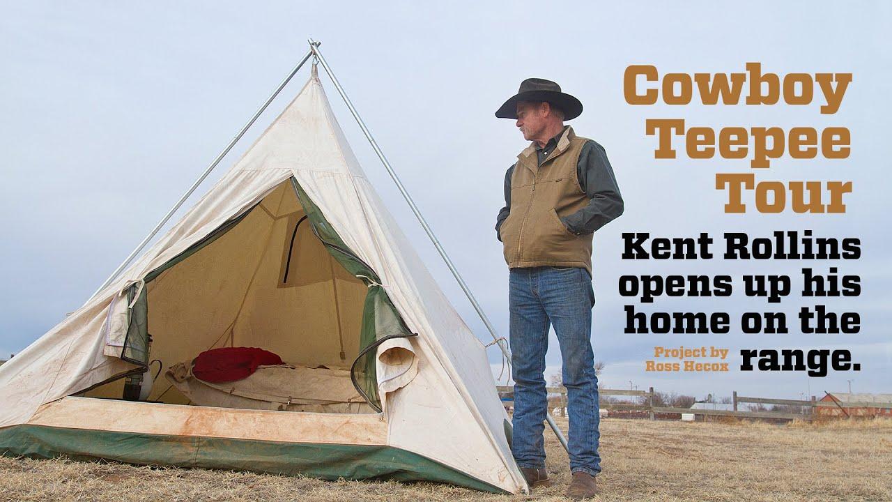 new concept 6a390 040cc Cowboy Teepee Tour