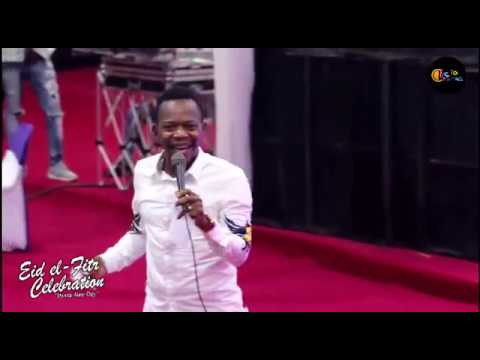 Eid El Fitri celebration live in Magboro: koffi So Hilarious (Extract)