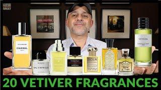 Top 20 Vetiver Fragrances | My 20 Favorite Vetiver Fragrances 2018 💚💚💚