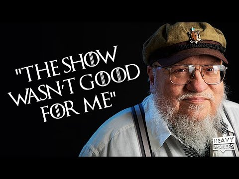 George RR Martin Regrets The Game Of Thrones TV Series And Says It Hurt The Books