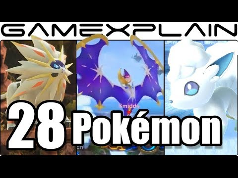 Super Smash Bros. Ultimate - 28 New & Returning Poké Ball Pokémon We've Seen So Far (+Stage Ones!)