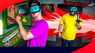 AMONG US NA VIDA REAL 2! - (Impostor IQ 9,999,999)