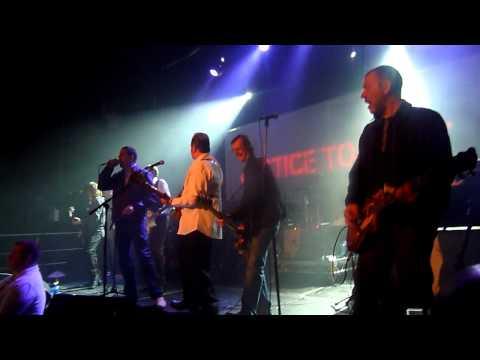 Mick Jones (The Clash) - (Whiteman) in Hammersmith Palais - Justice Tonight Dublin