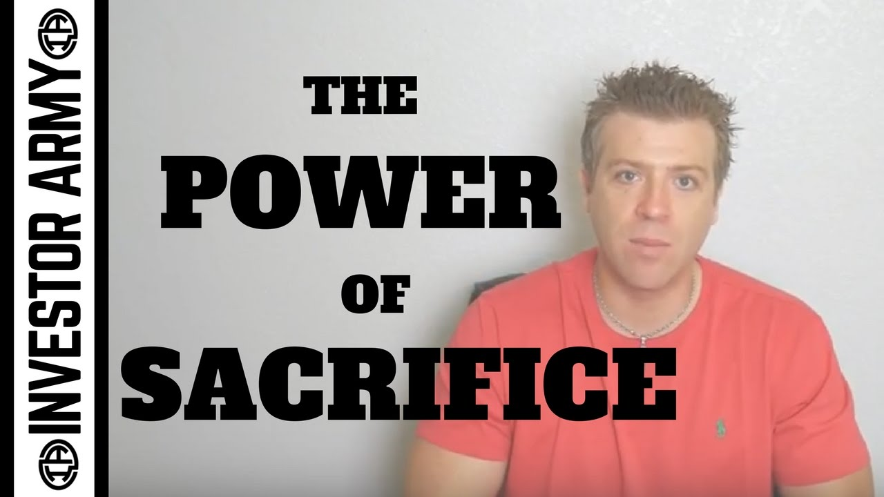 The Power Of Sacrifice