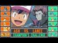 Ash vs. Lance (Pokémon Sun/Moon) - Johto Champion's Challenge
