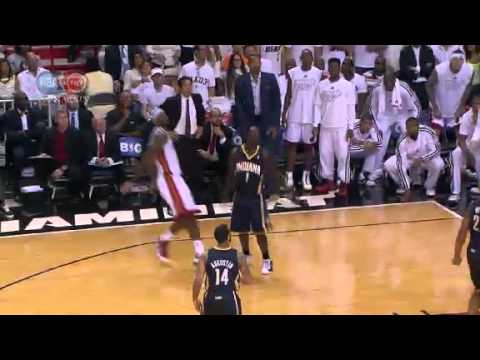 NBA CIRCLE - Indiana Pacers Vs Miami Heat Game 5 Highlights - 30 May 2013 Eastern Final