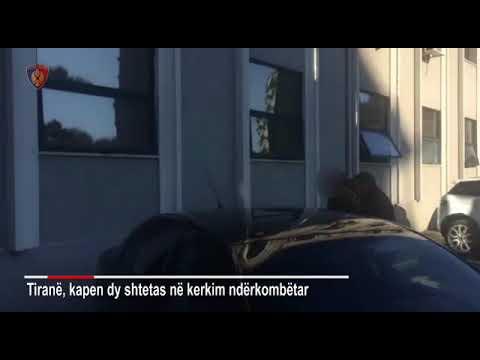Report TV - Tiranë, arrestohen dy shtetas në kërkim ndëkombëtar, njeri italian