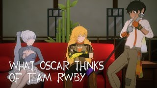 What Oscar Thinks of Team RWBY (RWBY Thoughts)